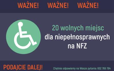 Rehabilitacja domowa dla osób z 1 stopniem niepełnosprawności